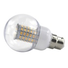 HONSCO B22 6W 69-5730 SMD LED Warm White Ball Bubble Lamp Bulb