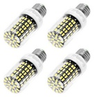 YouOKLight E27 10W LED Corn Bulb Cool White 108 SMD 5733 (110V/4PCS)