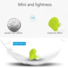 Mini Wireless Bluetooth Stereo Headphones In-Ear Headset - Green