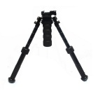 Tactical Precision BT10-LW17 Bipod w / Standard Grip Picatinny Mount