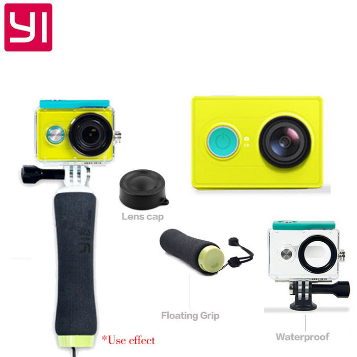 Xiaomi Xiaoyi 1080P 16MP камера спорта ж / Wi-Fi, BT - зеленый