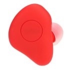 Mini Wireless Bluetooth Stereo Headphones In-Ear Headset - Red