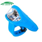 USB Charging Flashlight Bicycle Front Head Light Neutral White - Blue
