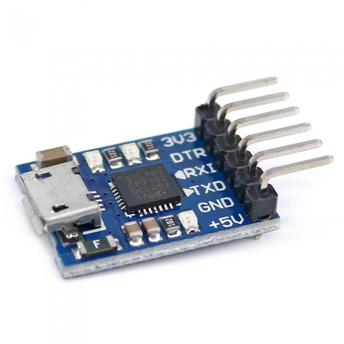 Cp usb to ttl serial adapter module for arduino pro