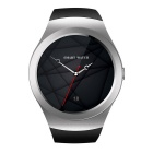 KS2 MTK2502C Smartwatch SIRI Phone for Apple IOS - Black + Silver