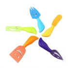 Stainless Steel Mini Cheese Knife Colorful Tableware Set (5PCS)