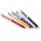 SZKINSTON 5-in-1 Stylus Touch Pens Ball Point - White + Black