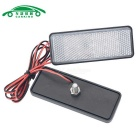 Placa de matrícula LED luz intermitente luz blanca neutra (2PCS)