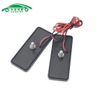 Motorcycle License Plate LED Flashing Light Neutral White Light (2PCS)
