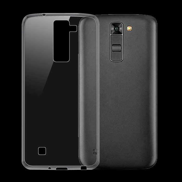 Ultra-Thin Protective Back Case for LG Tribute 5 / K7 - Transparent