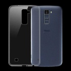 Ultra-Thin Protective TPU Back Case for LG K10 - Transparent