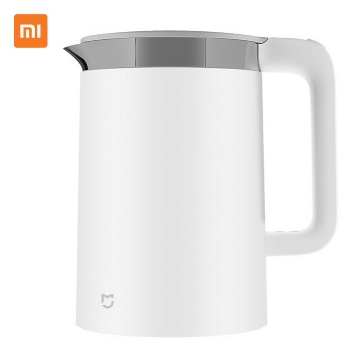 Xiaomi MiHome 1800W 220V Constant Temperature Electric Kettle - WhiteHome Smart Devices<br>Form  ColorWhiteModelYM-K1501Quantity1 DX.PCM.Model.AttributeModel.UnitMaterialPP plasticPower1800 DX.PCM.Model.AttributeModel.UnitRate Voltage220VPower AdapterAU PlugPacking List1 x Electric kettle<br>