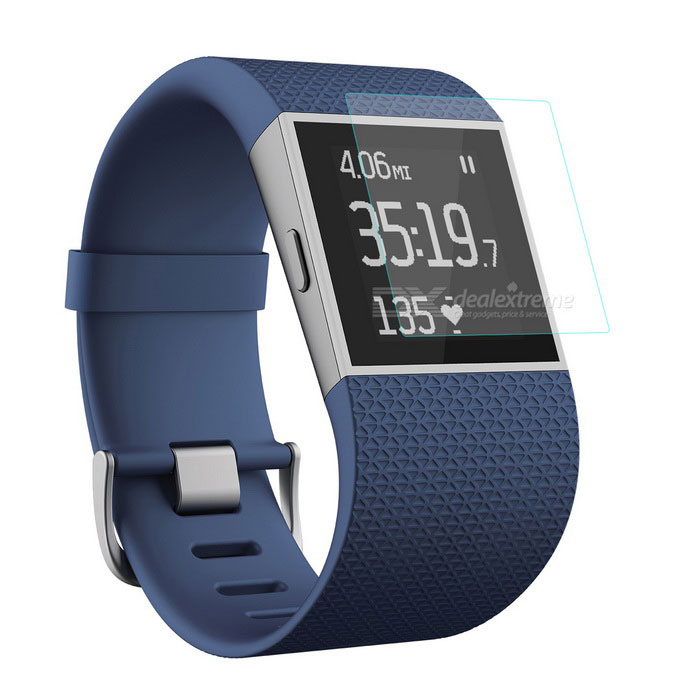 Hat-Prince 0.2mm Tempered Glass Film for Fitbit Surge - Transparent