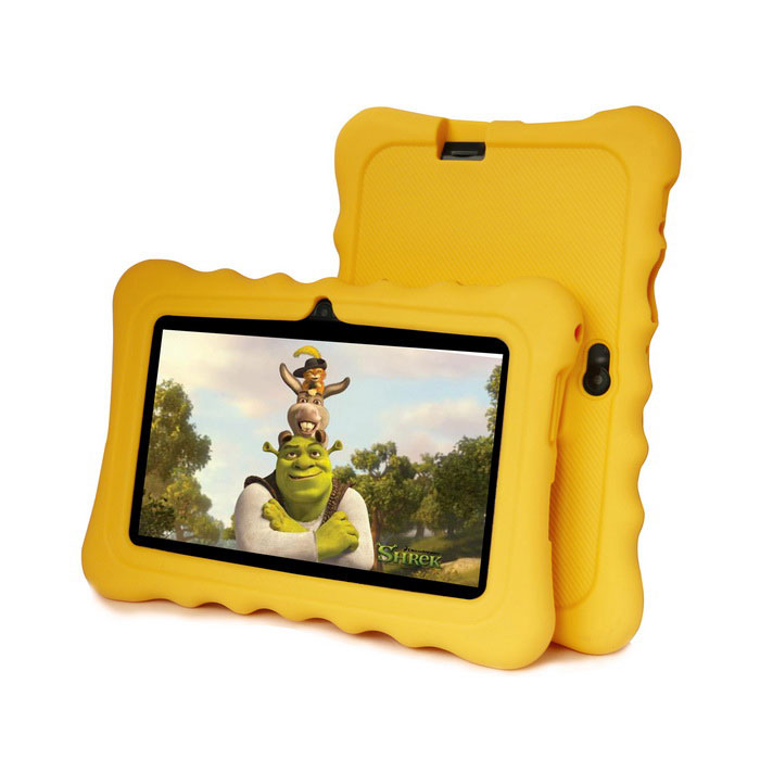 "Ioision M701 7"" Android 4.4 Kids Tablet w/ 8GB ROM - Dark Yellow"