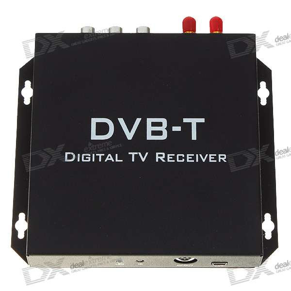 DVB-T Digital Television TV Receiver Box