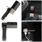 Doppio USB 2.1 A caricabatteria da auto w / LED Display Bluetooth Hands-free