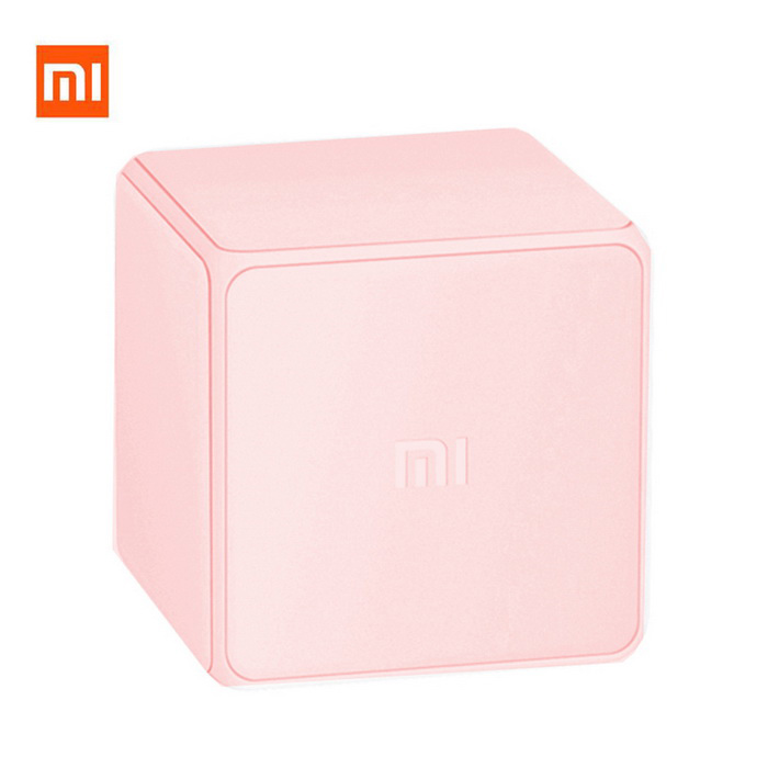 Original Xiaomi MFKZQ01LM Intelligent Magic Cube Controller - Pink