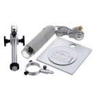 HOT HT-30S 2.0MP HD 1~500X USB Digital Microscope - Grey