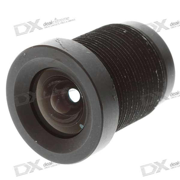 3.6mm Fixed IRIS Lens for Webcams and Security/CCTV Cameras