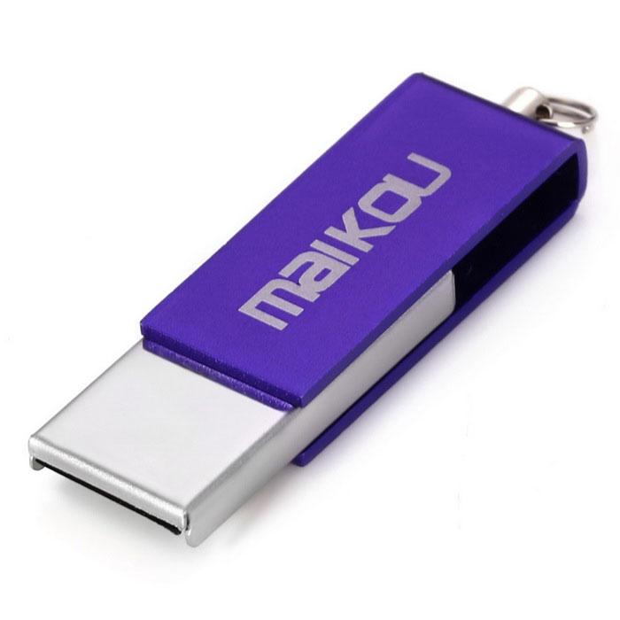 Maikou MK0008 Creative 64GB USB 2.0 Flash Drive U Disk-purple