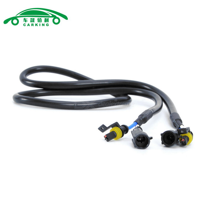 Automotive High Voltage Cable : Motorcycle car hid xenon light high voltage extension wire