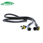 Motorcycle Car HID Xenon Light High Voltage Extension Wire Cable (1m)