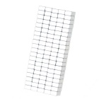 8*5*3mm Rectangle Neodymium NdFeB Magnet - Silver (100PCS)