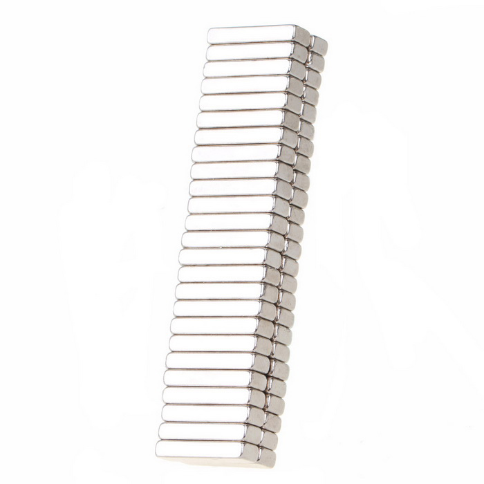 18*5*3mm Rectangle Neodymium NdFeB Magnet - Silver(50PCS)Magnets Gadgets<br>Form  ColorSilverMaterialNdFeBQuantity50 DX.PCM.Model.AttributeModel.UnitNumber50Suitable Age 8-11 years,12-15 years,Grown upsPacking List50 * Magnets<br>