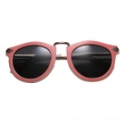 ReeDoon K129 UV400 Protection Polarized Sunglasses - Pink + Grey