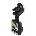 H150 1080P HD Night-vision Wide-angle Car DVR Recorder - Azul