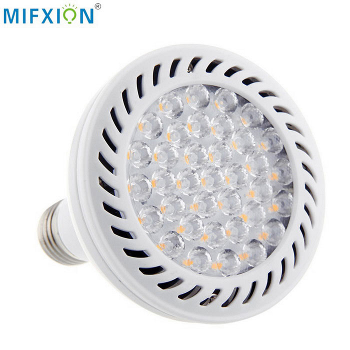 Spotlight MIFXION PAR30 E27 36W-36 LED del bulbo de la lámpara de luz blanco neutro