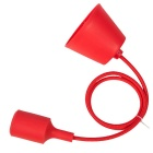 YouOKLight YK6616 E27 Modern Art Pendant Light Holder - Red