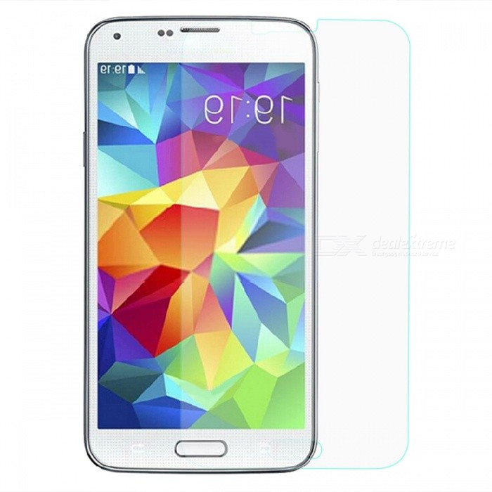 9H Tempered Glass Film for Samsung Galaxy S5 - Transparent