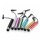 Bullet Mini Stylus Touch Screen Pens w/ Anti-dust Plug for IPHONE / IPOD / IPAD / Samsung /  + More