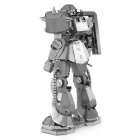 3D Stereo Puzzle Model Mobile Warrior - Silver