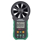 Aimometer MS6252B Digital anemômetro Air Speed ​​Velocity Air Flow Meter