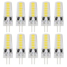 YouOKLight YK1484-W G4 2W 12V 12-LED Cool White Light Bulbs (10 PCS)