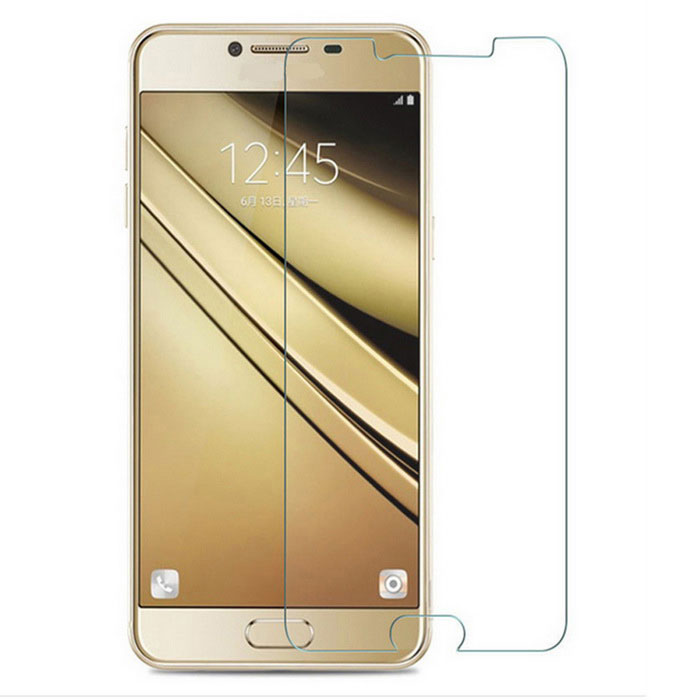 9H Tempered Glass Film for Samsung Galaxy C5 - Transparent