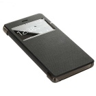 Protective Leather + ABS Case for Huawei P9 - Black