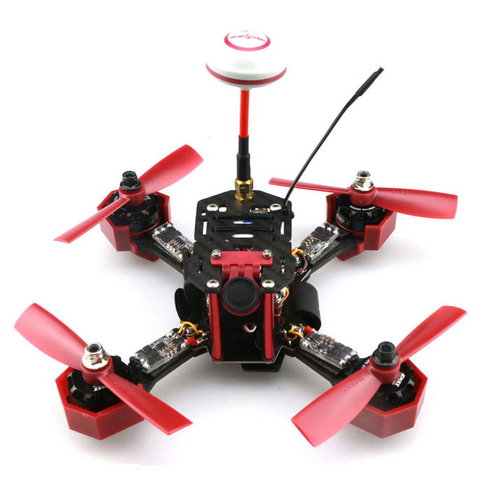 JJRC JJPRO-P175 5.8GHz FPV 800TVL 6-CH Drone - Red + BlackR/C Airplanes&amp; Quadcopters<br>Form  ColorRed + MulticoloredModelP175MaterialCarbon fiberQuantity1 DX.PCM.Model.AttributeModel.UnitShade Of ColorRedGyroscopeYesChannels Quanlity6 DX.PCM.Model.AttributeModel.UnitFunctionUp,Down,Left,Right,Forward,Backward,Stop,Hovering,Sideward flightRemote TypeRadio ControlRemote control frequencyOthers,5.8GHzRemote Control Range500 DX.PCM.Model.AttributeModel.UnitSuitable Age 12-15 years,Grown upsCameraYesCamera PixelOthers,FPVCMOS 800TVLLamp YesBattery TypeLi-polymer batteryBattery Capacity1300 DX.PCM.Model.AttributeModel.UnitCharging Time120 DX.PCM.Model.AttributeModel.UnitWorking Time8~15 DX.PCM.Model.AttributeModel.UnitRemote Controller Battery TypeAARemote Controller Battery Number4(Not included)Remote Control TypeWirelessModelMode 2 (Left Throttle Hand)CertificationCEOther FeaturesFlight controller:<br>Emax Skyline32 Acro<br>Product Specifications: 35x35x5mm<br>Weight: 4.5g<br>Motor:<br>Brands: Emax<br>Model: RS2205                                                          <br>KV: 2600<br>MAX Thrust:1024G                                                      <br>Length: 31.7MM<br>NO.OF Cell:3-4S                                                        <br>Diameter: 27.9MM<br>Framework: 12N14P                                                      <br>Shaft:M5<br>Propeller:4-5 inch                                                    <br>Weight: 30G<br>ESC:<br>Brand:Emax<br>Model: Lightning 20A<br>Continuous Current:20A <br>Instantaneous Current(10S):30A<br>BEC: No<br>Input Voltage: 3-4S<br>MCU: F396<br>Weight: 5.5G<br>Size(without plug): 24.5x12.5x5mm<br>Power Output: 50Ohm<br>RF Impedance: 27-28dBm<br>Operating Voltage: 7V-24V<br>Audio carrier: 6.5MHz<br>Camera:<br>Resolution: 800TVL<br>Operating Voltage: 7-12V<br>Image Sensor: 1/3 CMOS<br>Power consumption: 30mA 12<br>Lens: 2.2mm<br>Min.illumination: 0.1Lux/F1.2<br>Electronic Shutter Speed: 1/50(1/60)~1/100000 sec<br>Angle: 120°diagonal FOV, 80°horizontal FOV<br>Signal System: NTSC/PAL(default PAL) <br>Video Output:1.2Vp-p <br>External Signal Control Black &amp; White Shift: Support<br>Filter Switch Drive: Support<br>Size:18.5mm*18.5mm<br>5.8G 48CH 600mW TransmitterPacking List1 * Frame Kit1 * Remote Controller1 * Receiver1 * PDB4 * Motor Bases4 * 2204 Motors4 * 20A ESCs8 * Propellers1 * Power Connector1 * 3S 11.1V 1500mAh 25C Battery1 * Charger1 * CMOS 800TVL Camera1 * Camera Mount1 * FT600VT*1 * Antenna1 * Bag1 * Chinese and English Manual<br>