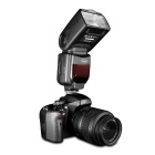 Sidande DF-550 Speedlight SLR Camera External Top Flash Lamp - Black