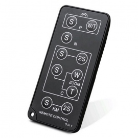 Sidande TX1003 5-in-1 Infrared Wireless Remote Control Switch Shutter