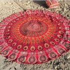 Seaside Holiday Beach Blanket Verão Dampproof Mat toalha - rosa
