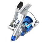 Electroplating Stainless Steel Fishing Line Reel - Blue + Silver