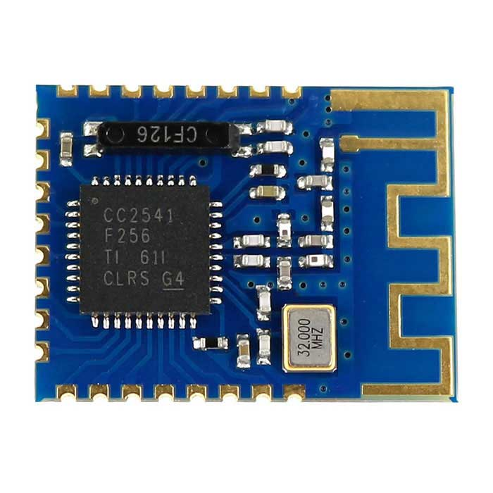 Mini CC2541 Serial Bluetooth 4.0 BLE Wireless Transceiver ModuleTransmitters &amp; Receivers Module<br>Form  ColorBlue + BlackModelN/AQuantity1 DX.PCM.Model.AttributeModel.UnitMaterialPCBFrequency2.4GHzWorking Voltage   DC 3.3 DX.PCM.Model.AttributeModel.UnitEnglish Manual / SpecYesDownload Link   http://drive.google.com/folderview?id=0B6uNNXJ2z4CxZ09ncm5LY0R5RGM&amp;usp=sharingPacking List1 * Module<br>