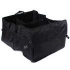ZIQIAO Portable Waterproof Foldable Car Storage Bag - Black