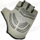 Cool Change Ventilation Shock Absorbing Semi-Finger Gloves (Pair)