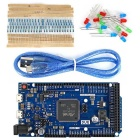 DUE R3 kit de placa de desarrollo w / USB cable / resistor / LED para arduino
