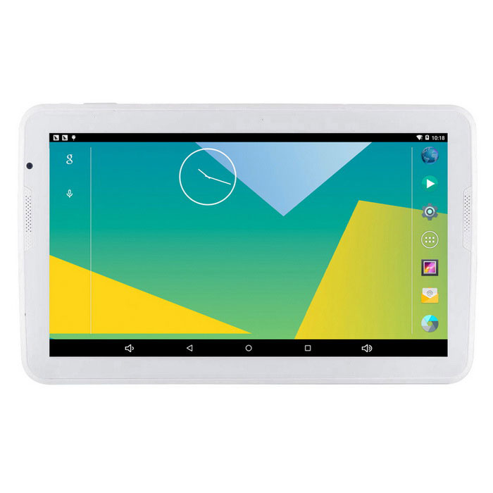 "A106 10.6 ""Android 5.1 Tablet PC w / 1 GB de RAM, 16 GB de ROM - Blanco"