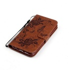 BLCR PU Leather + TPU Case for Samsung Galaxy S7 Edge - Brown